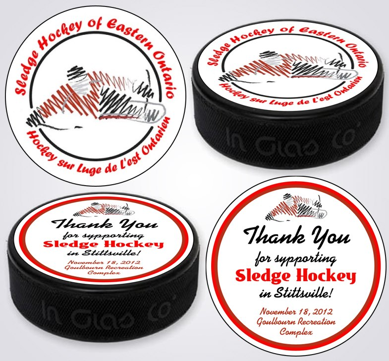 SHEO Puck Label - Graphic / Illustration