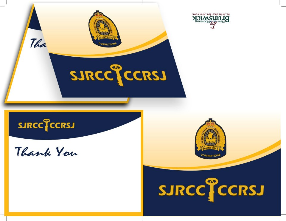Saint John Regional Correctional Centre - Thank You Card