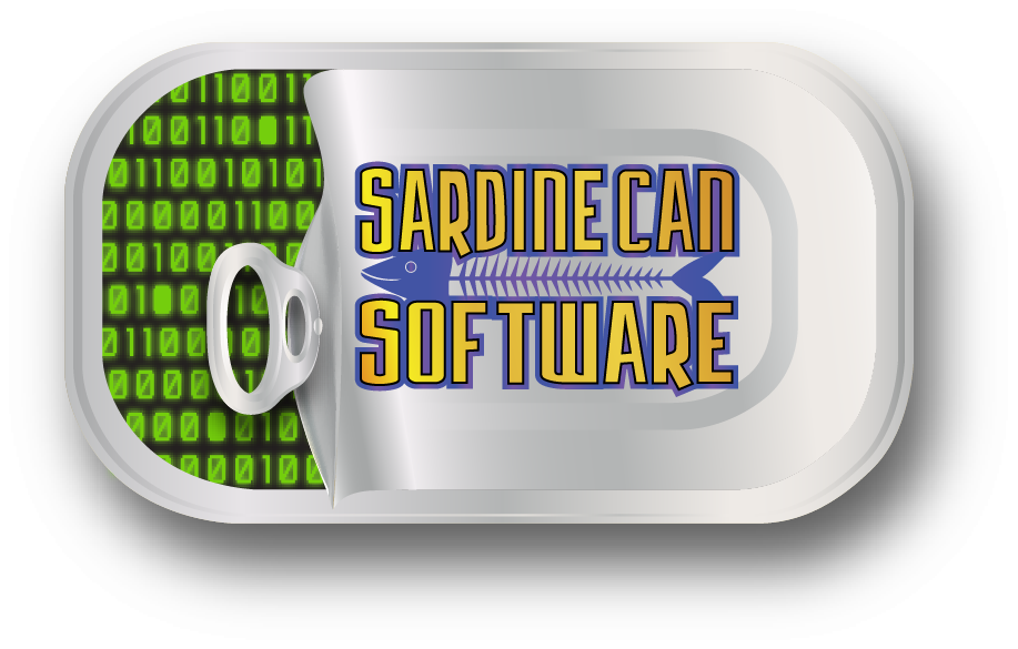 Sardine Can Software logo - Graphic Design / Illustration