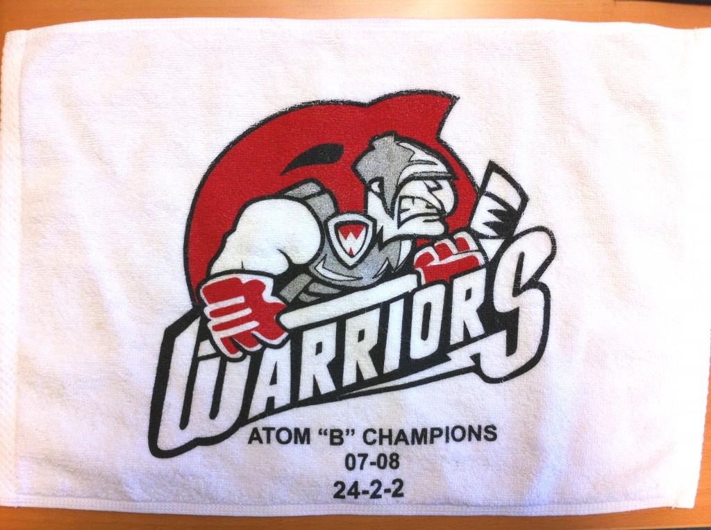 Warriors Towel