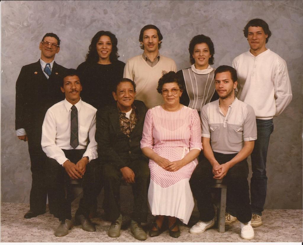 Original Simms Family Photo