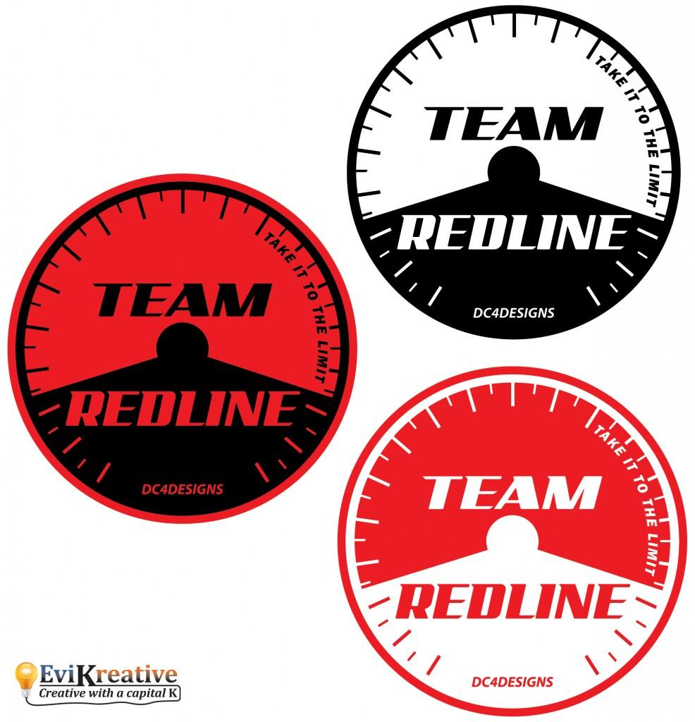 Team Redline - Ultimate Jersey Logo Variants