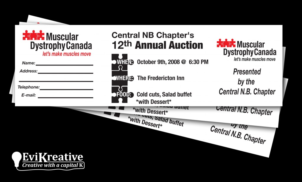 Muscular Dystrophy Canada - Auction Tickets