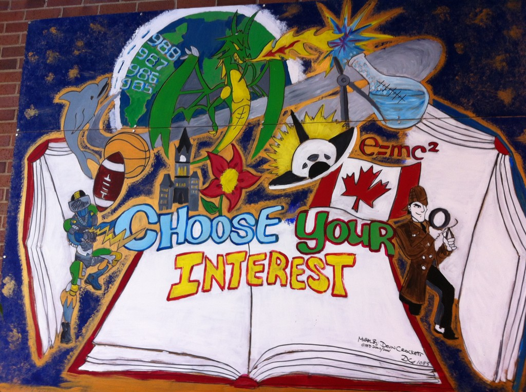 Choose Your Interest - OHS Mural