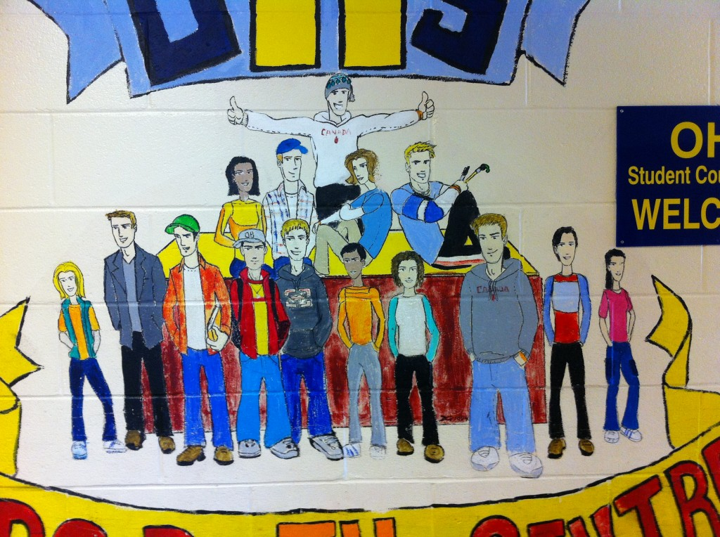 OHS - Drop in Centre - Mural - close-up