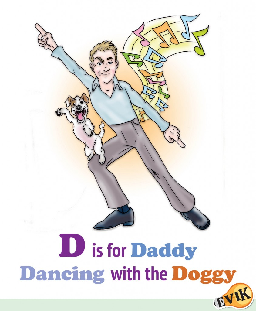 D is for Daddy Dancing with the Doggy