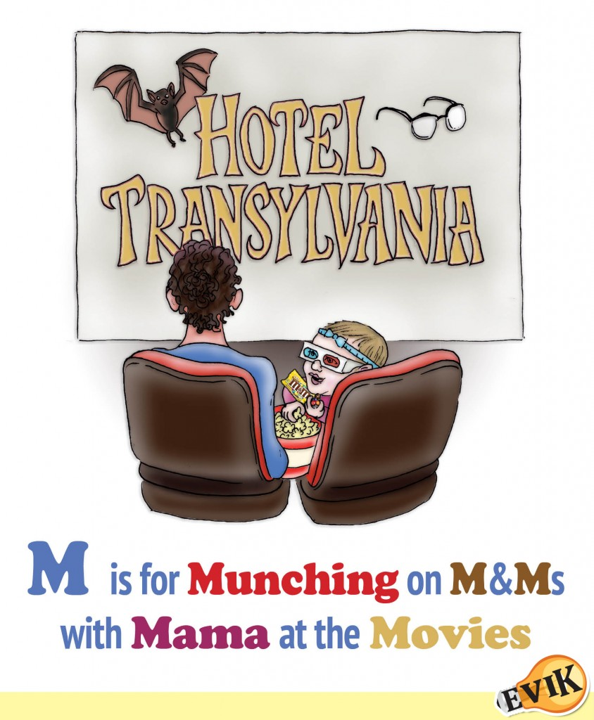 M is for Munching on M&Ms with Mama at the Movies